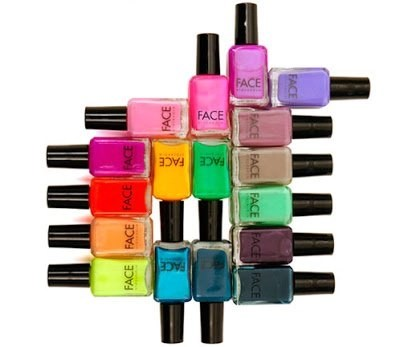 FACE Stockholm's Rainbow of Nail Colors, Delights