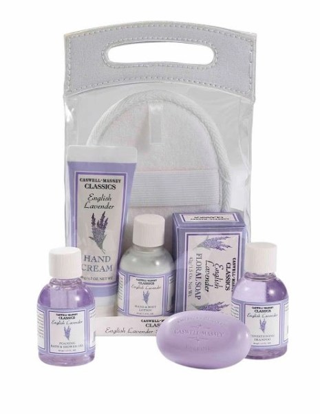 Caswell Massey Spa Carry-On Kit Brings Lavender & Almond Luxury