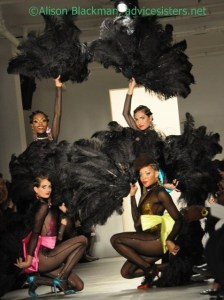 The Blonds Spring 2011 Collection Fans, Fan Dancers, Barbie, and Old Hollywood
