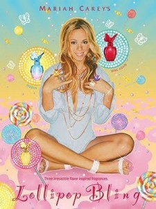 Mariah Carey's Trio of Fragrance Treats called Lollipop Bling,  Will Tempt You
