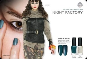 Creative Nail Design's Night Factory Gives You Colour and Effects
