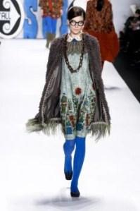 Anna Sui's Sweet Taste Of Rock 'N Roll On The Runway #NYFW @annasuifashion