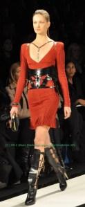 Herve Leger Runway Fall Fashion Week 2012 #NYFW