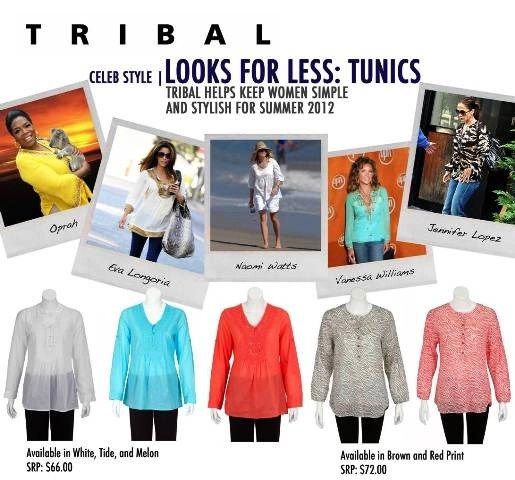 Spring:  for a Tribal Sportswear Tunic
