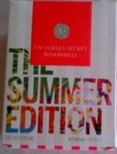 victorias secret bombshell summer edition fragrance box