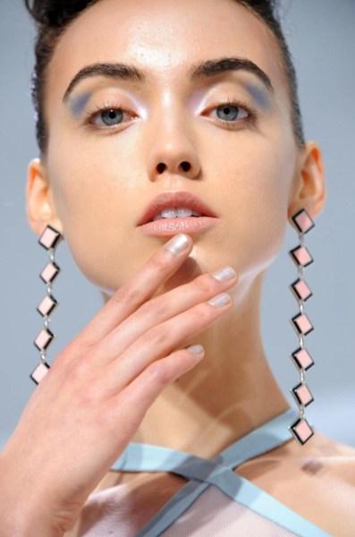 Creative Nail Design at Malandrino, Binetti, and Victoria Beckham for new york fashion week