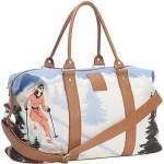 the NEVE Courchevel Weekender Bag Stows Your Stuff, With High End Style @NeveDesigns