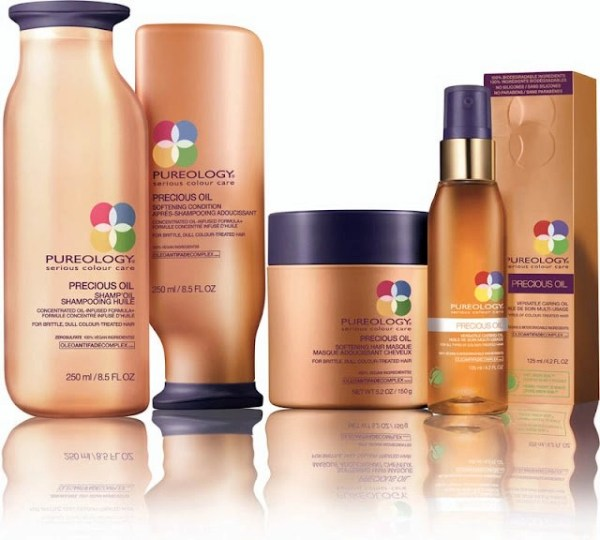 Pureology's Precious Oil Packs a Great HairCare Punch (Especially the Versatile Caring Oil)