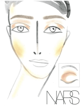 Fashion Week Backstage Beauty: NARS for Helmut Lang Fall Winter 2013 @helmutlang @NarsAssist @ #fashion