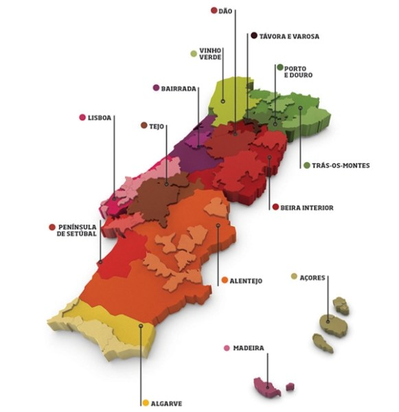 "The Wines of Portugal, a ""grape"" variety of grape varietals #wine #Portugal"