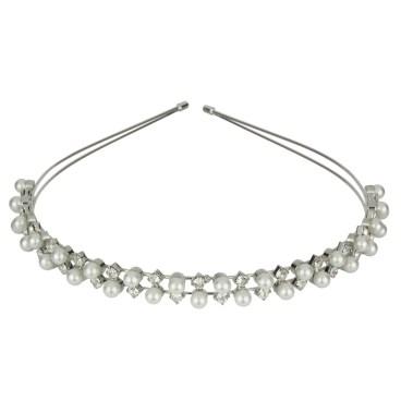 Roman Bride Crystal Headband