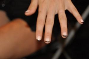 Fashion Week Backstage Beauty Morgan Taylor Nail Report #NYFW