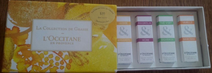 L'occitane travelers set