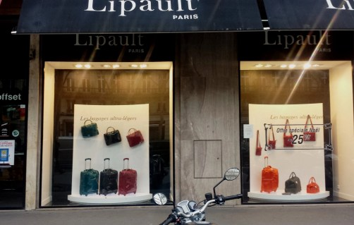 lipault france window