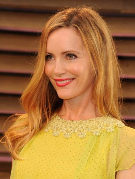 Get the Look, Leslie Mann at the 2014 Vanity air Oscar Party by Makeup Artist Elaine Offers #Oscar