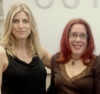 it's an old photo, but here we are at Cutler Salon