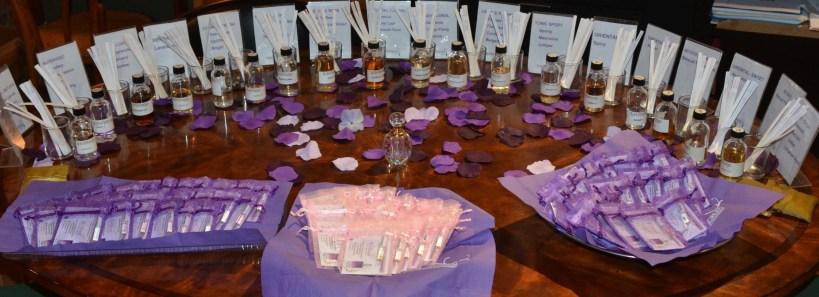 18 custom blends make it easier to create a bespoke fragranc