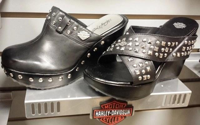 harley davison sandals and clogs