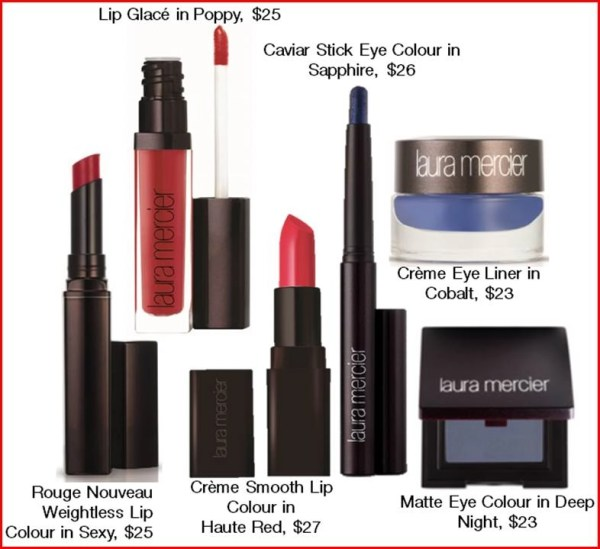 Red HOT and Blue makeup for July 4th from Laura Mercier @LauraMercier #July4th