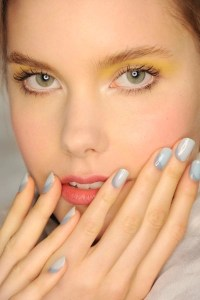 See Nails on the Runway Spring/Summer 2015 before the polish even dries from Morgan Taylor @MorganTaylor, #NYFW, #MBFW