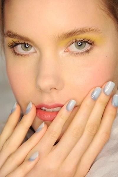 See Nails on the Runway Spring/Summer 2015 before the polish even dries from Morgan Taylor @MorganTaylor, #NYFW, #MBFW