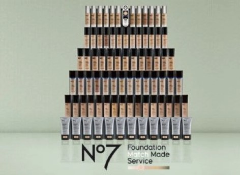 fountain of foundations from Boots no7