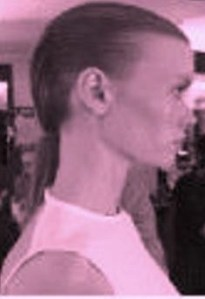 "Stella McCartney is ""doin the pony"" for London Fashion Week @Aveda, @StellaMcCartney #LondonFashionWeek, #spring2015"
