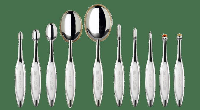 artis elite mirror finish 10 brushes lineup