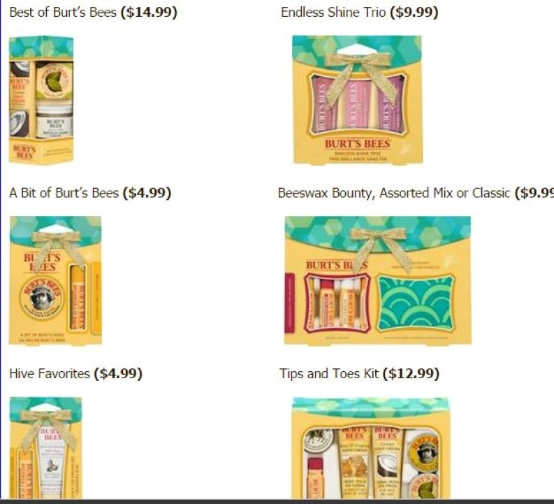 burts bees holiday2