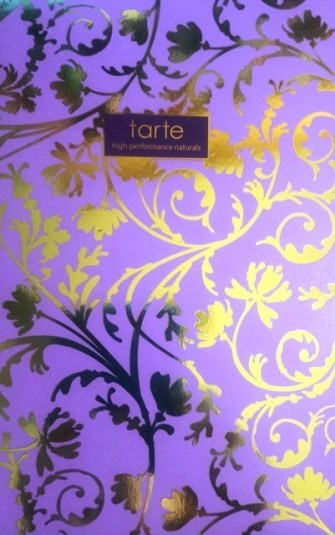 no need to wrap in paper, save a tree, just add a gift card and iyour gift is ready to go, dressed to impress, thanks to Tarte