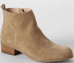 lands end ankle boots