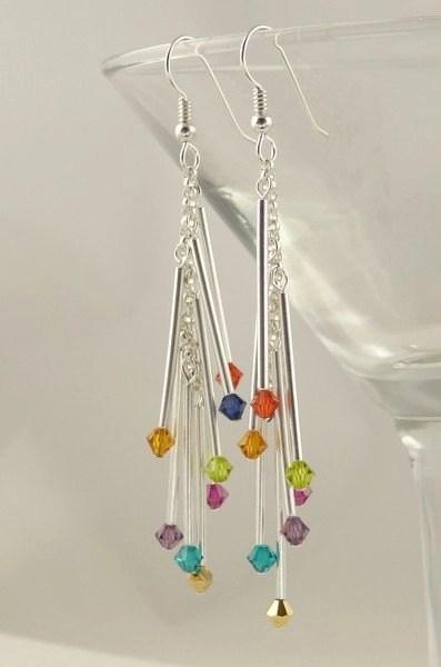 strands fiber option jewelry
