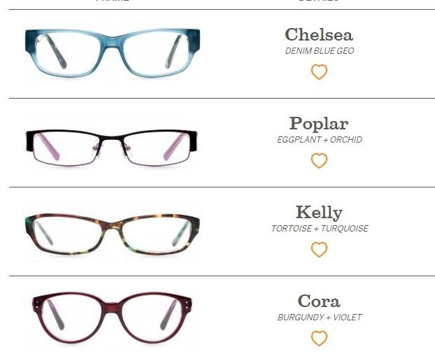 eyeglasses I didn't pick all of them