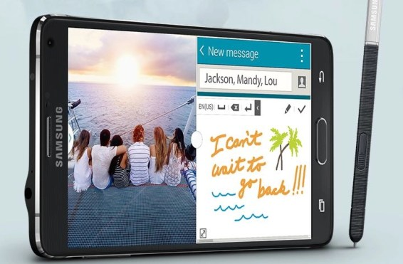 Samsung Galaxy Note 4 S-Pen lets you write longhand right on your screen