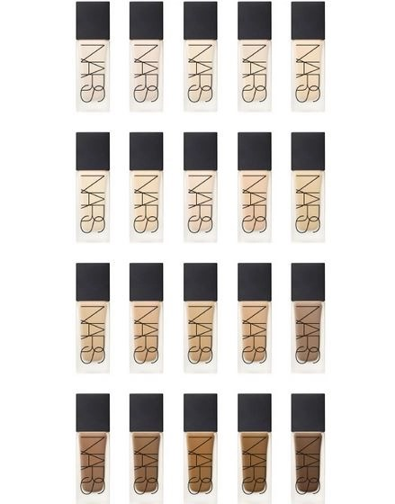NARS FOUNDATION COLORS