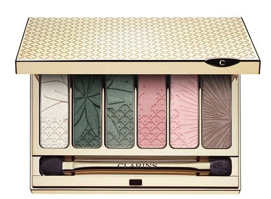 clarins garden escape eye palette
