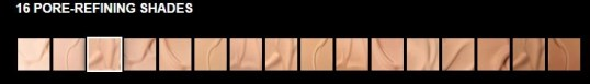 foundation shades maybelline