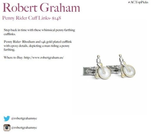 robert grahm cufflinks