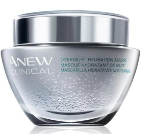 anew clnical overnight hydration mask  sleep with this cream