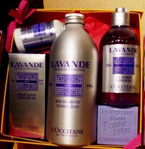 L'OCCITANE lavender collection $72