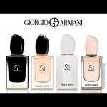 si by giorgio armani grouping of fragrances