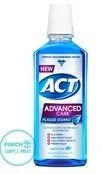 act mouthwash sample