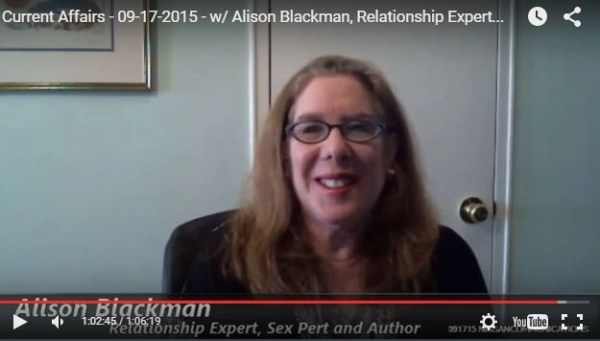 "Watch Alison Blackman 1st video Skype show on ""Current Affairs"" @NissanCommunica"