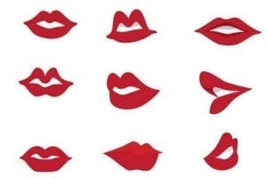 red lips for everyone