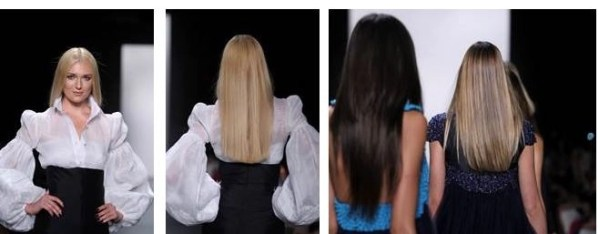 Straight is Great! Hair How-To Zang Toi SS2-15 @MacadamiaHair, @ZangToi, #NYFW,