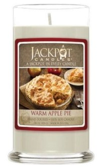 jackpot candle warm apple pie $24.95