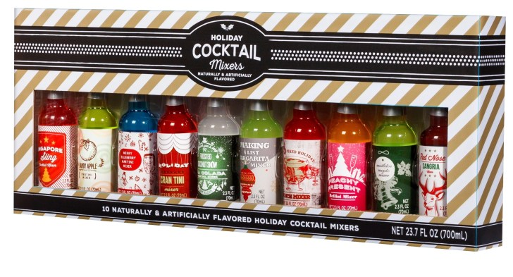 HolidayCocktailMixers for target