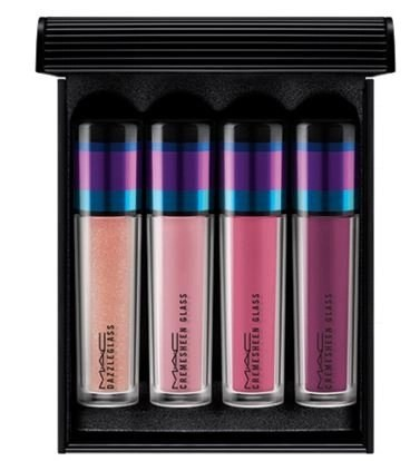 mac irresistably charming lip gloss in pink