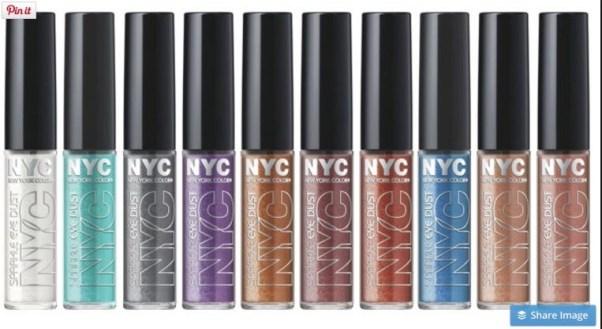 NYC new York Color SParkle eye dust