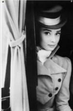 audrey hepburn in a top hat